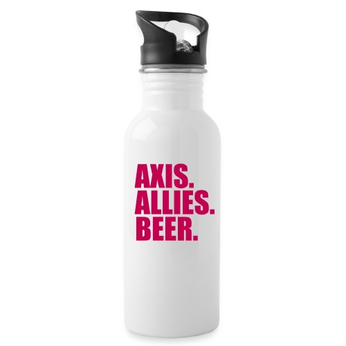 Axis. Allies. Beer. Axis & Allies - Water Bottle