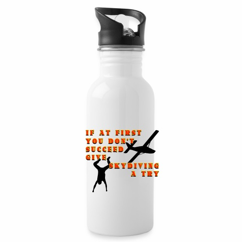 Try Skydiving - Water Bottle