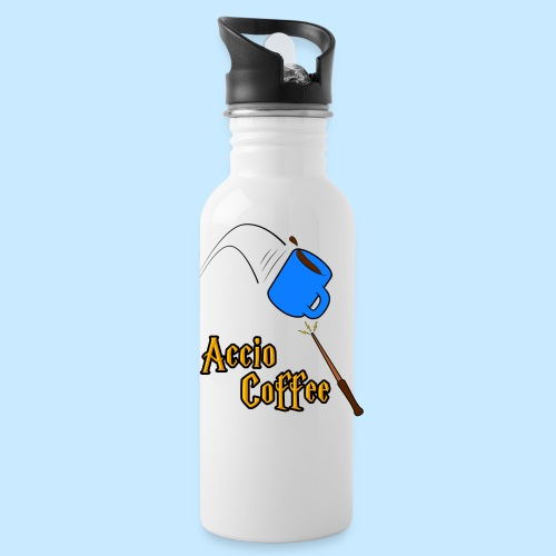 Accio Coffee! (Double Sided) - Water Bottle