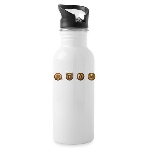ROAM letters sepia - Water Bottle
