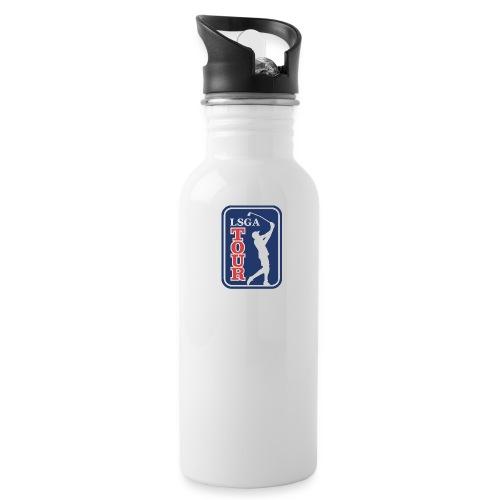 LSGA logo golf - Water Bottle