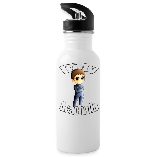 Billy acachalla copy png - Water Bottle