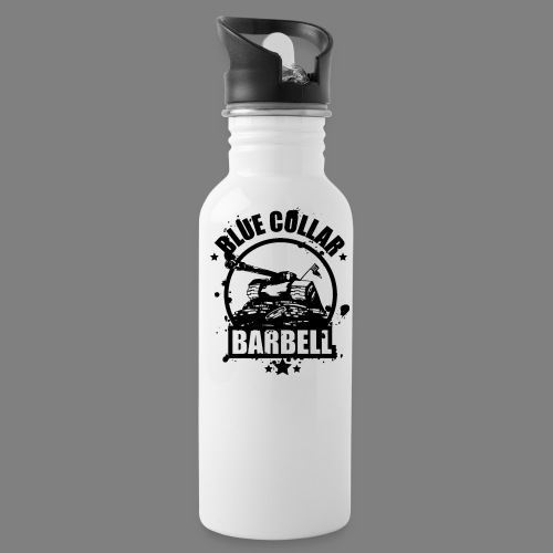 logo transparent double - Water Bottle