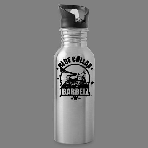 logo transparent double - Water Bottle