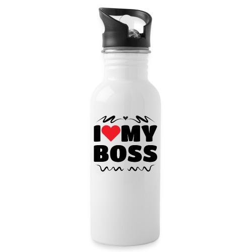 I love my Boss - Water Bottle
