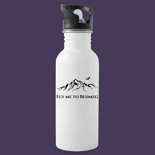 Fly Me To Bedmeg (black) - Water Bottle