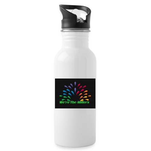 We're the Millers logo 1 - Water Bottle