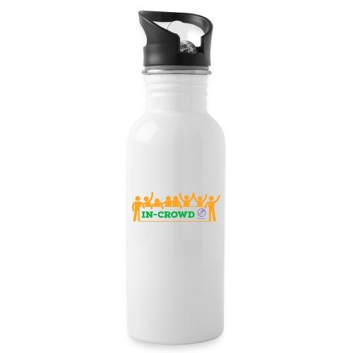 in crowd orange - Water Bottle