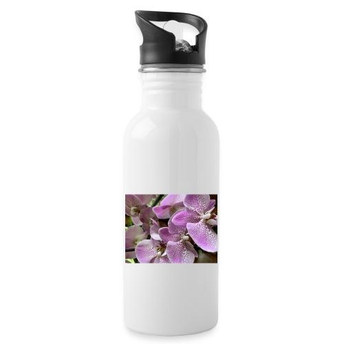 Purple Flower Beauties - Water Bottle