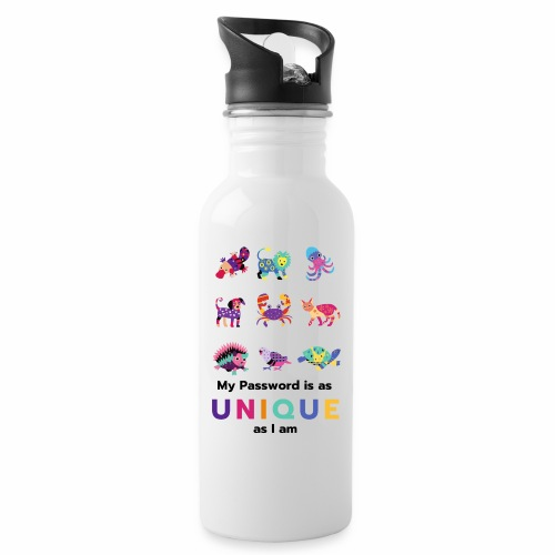 Make your Password as Unique as you are! - Water Bottle