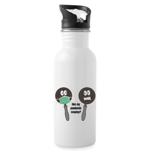 pandemic, cosplay, funny t-shirt, - Water Bottle