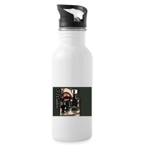 Cold hearted ice line - Water Bottle