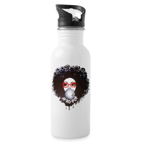 Afro pop_ - Water Bottle