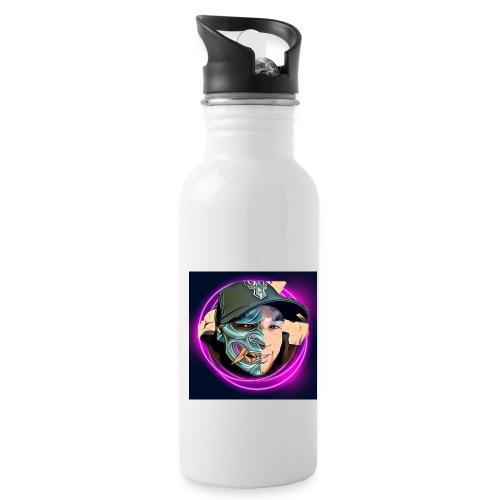 Oni mask - Water Bottle