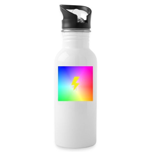Rainbow lightning t-shirt - Water Bottle