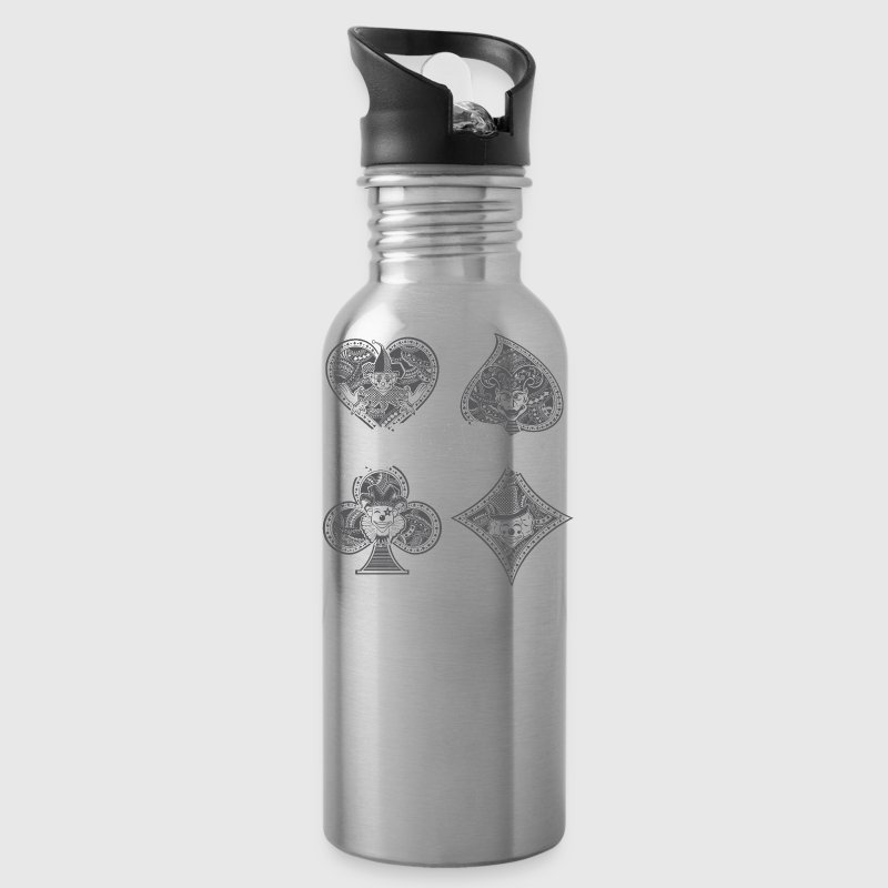 Monarch Playing Cards - Water Bottle