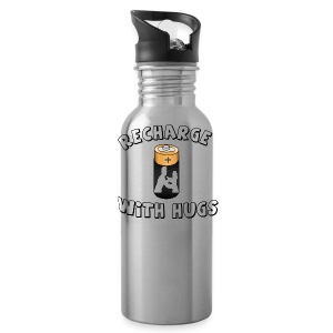 Recharge with hugs - Water Bottle