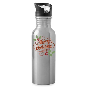 Merry Christmas - Water Bottle