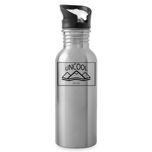 uncool_bw - Water Bottle
