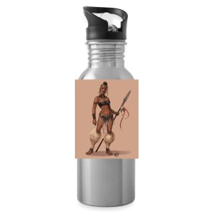 Female Warrior - Water Bottle