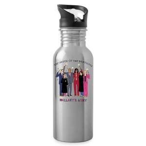 The Order of the Pantsuits: Hillary's Army - Water Bottle