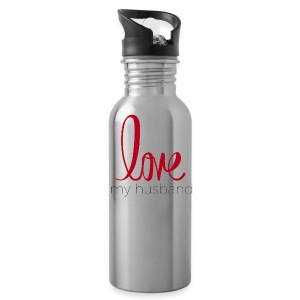 love my husband - Water Bottle
