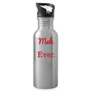 meh parents ever logo Product - Water Bottle