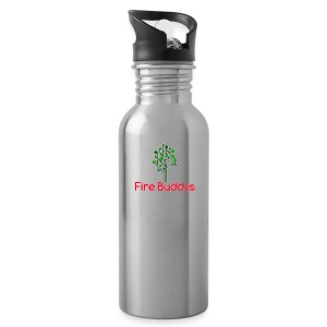 Fire Buddys Website Logo White Tee-shirt eco - Water Bottle