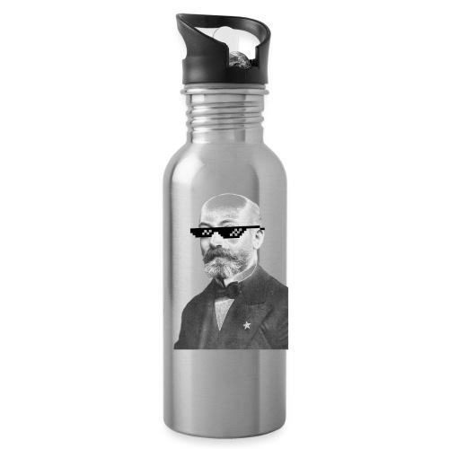Zamenhof Shades (BW) - Water Bottle