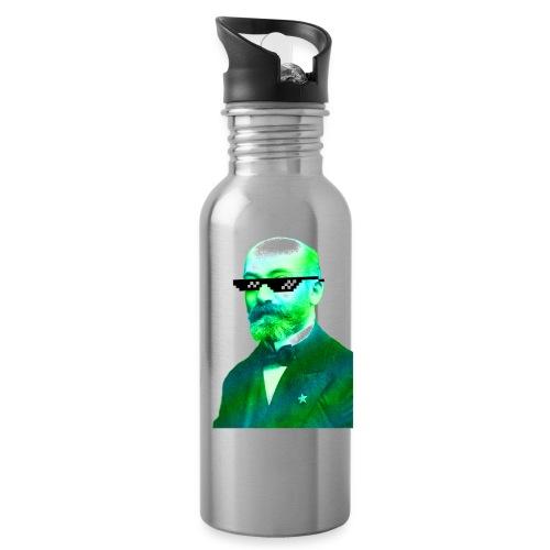 Green and Blue Zamenhof - Water Bottle