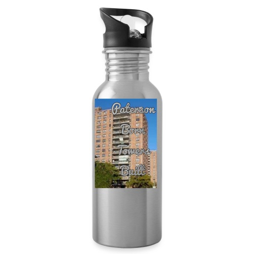 Paterson Born Towers Built - Water Bottle