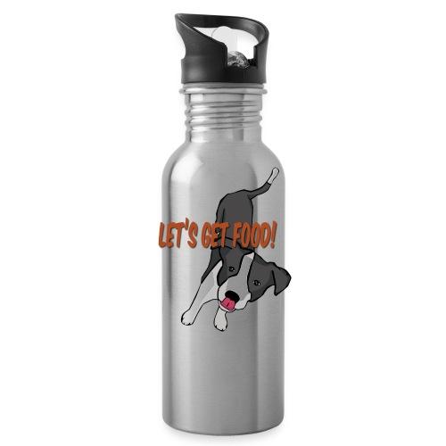 Foodie Dog Border Collie - Water Bottle