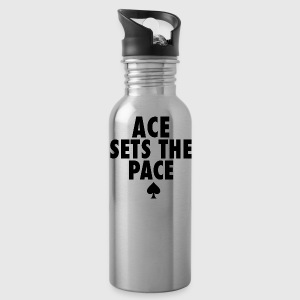 Ace Sets The Pace - Water Bottle