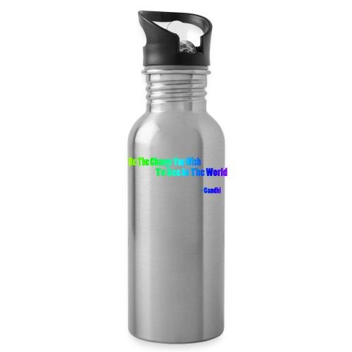 Motto by Gandhi - Water Bottle