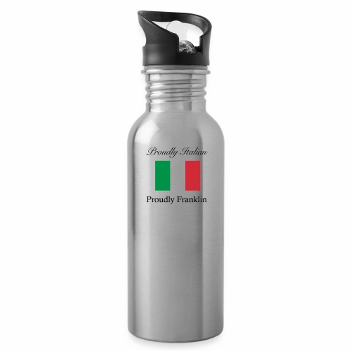 Proudly Italian, Proudly Franklin - Water Bottle