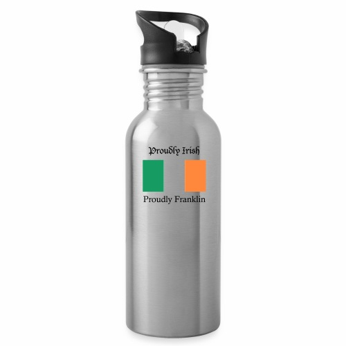 Proudly Irish, Proudly Franklin - Water Bottle