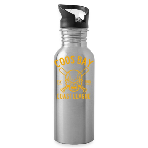Coos Bay Coast League 1-color Gold - Water Bottle