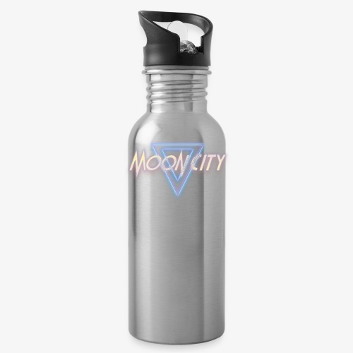 Moon City Logo - Water Bottle