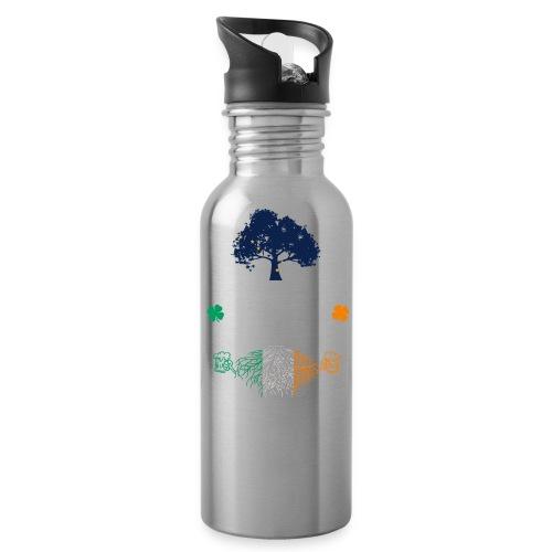ALASKAN WITH IRISH ROOTS - Water Bottle