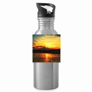 Sunset on paradise - Water Bottle