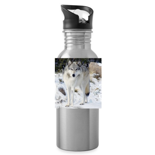 Canis lupus occidentalis - Water Bottle