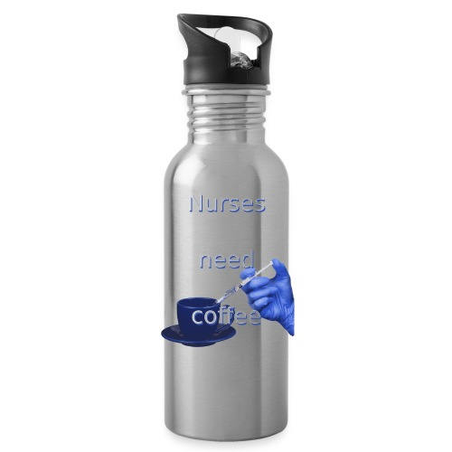 Nurses need coffee - Water Bottle