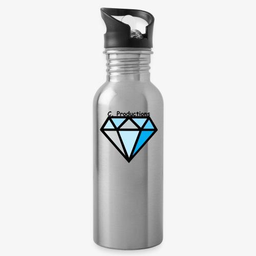 C. Productions Diamond Logo - Water Bottle