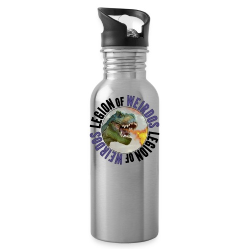 Legion of Weirdos Dino Circle - Water Bottle