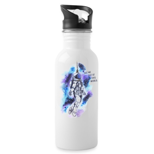 Get Me Out Of This World - Water Bottle