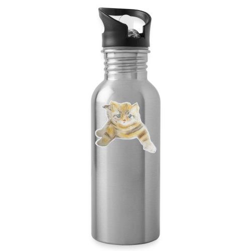 sad boy - Water Bottle