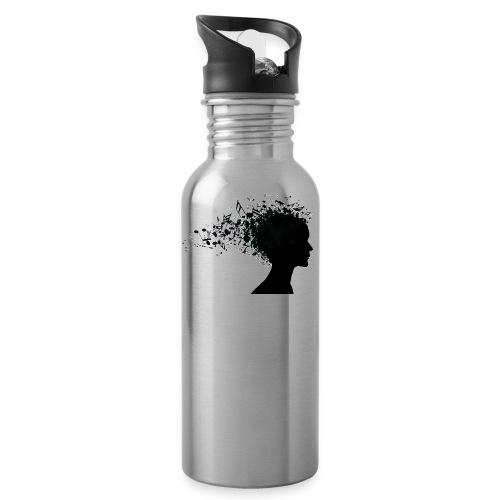 music through my head - Water Bottle