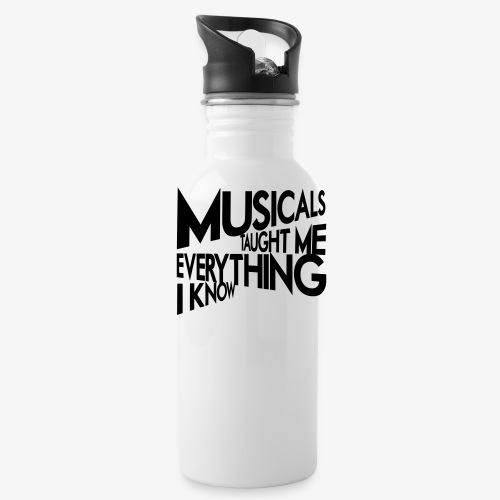 MTMEIK Black Logo - Water Bottle