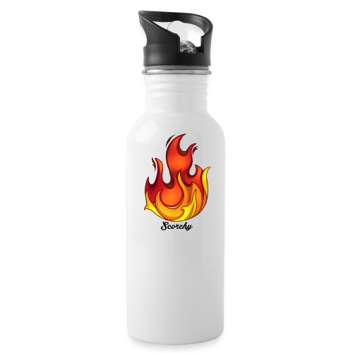 Scorchy Logo Black - Water Bottle
