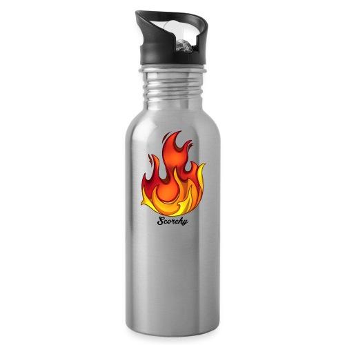 Scorchy Logo Black - Water Bottle
